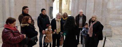 Visita aos mosteiros de Alcobaça