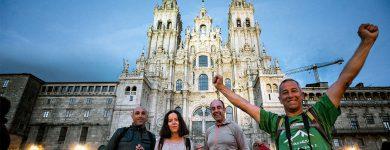 Mais de uma centena de participantes encerram a 14.ª e última etapa do Caminho da Costa a Santiago
