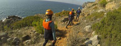 Coasteering em Sesimbra
