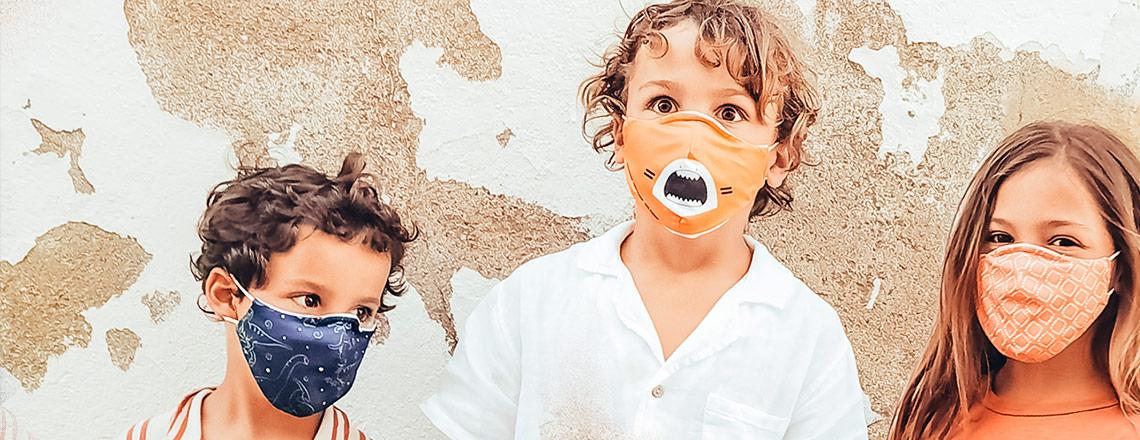 20% de desconto em máscaras faciais e proteções com a colocação de promocode.
