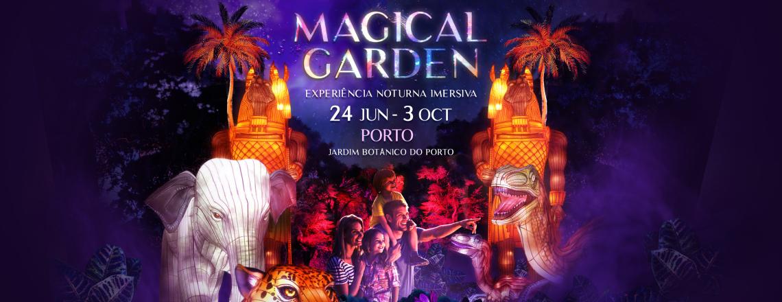 Experiência - Magical Garden Porto