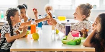 Lanches escolares saudáveis